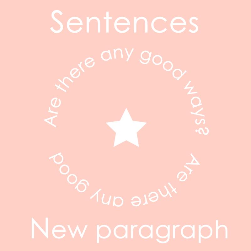 文章の改行
